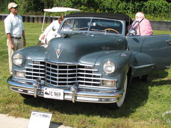 1946 Cadillac Series 62  owned by Marcel and Renee Perlman, new Fairfield, CT