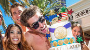 Michael Phelps' Las Vegas retirement party [Pictures]