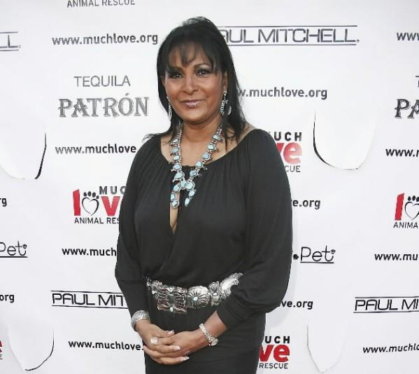 Actress Pam Grier attends the Much Love Animal Rescues Bow Wow Ciao Benefit at the Serra Retreat on August 5, 2006 in Malibu, Calif.