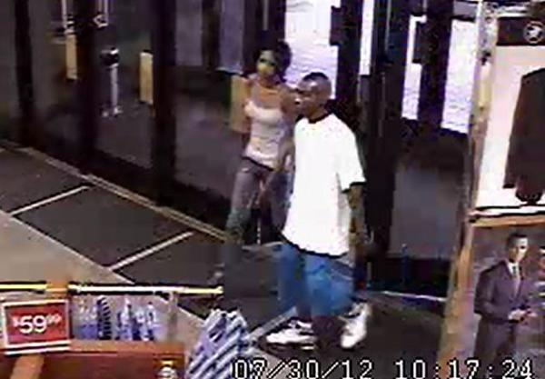 Palm Beach County Sheriff detectives are searching for a couple who stole $6,000 worth of Polo shirts from a Dillards store in Wellington