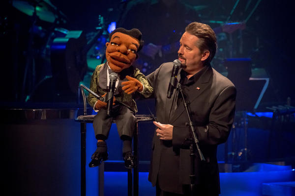 Terry Fator and Julius the Soul Singer