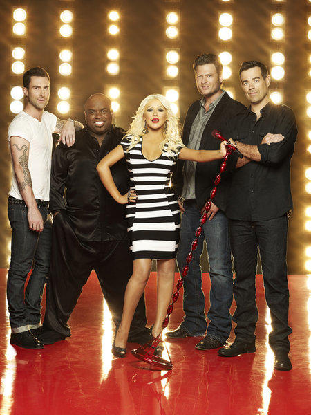 'The Voice' Season 3: 10 things we want to see [Pictures]: The third season of The Voice premieres at 8 p.m. Sept. 10 on NBC, and host Carson Daly and coaches Adam Levine, Cee Lo Green, Christina Aguilera and Blake Shelton are back to find, well, the voice. While the show is already a success, theres always room for improvement. Here are 10 things we want to see on this season of The Voice. - By Sara Toth