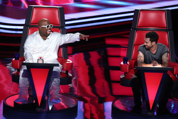 'The Voice' Season 3: 10 things we want to see [Pictures]: Lets expand The Voice franchise. Lets get those spinning red chairs into peoples living rooms, dining rooms, home offices. Everywhere. The world needs more of those suckers.