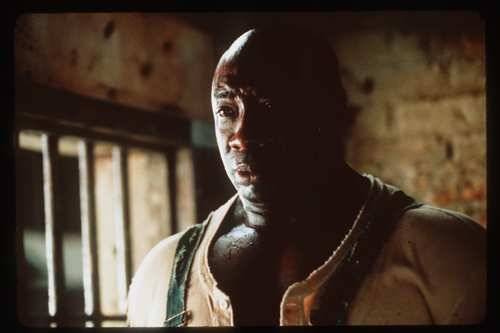 "Michael Clarke Duncan received an Academy Award nomination for his moving portrayal of a gentle death row inmate in the 1999 prison drama ""The Green Mile."""