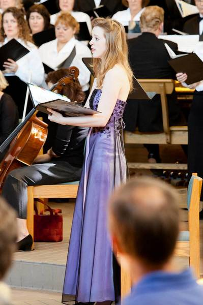 """Soprano Laura Whittenberger will be one of the featured soloists when Columbia Pro Contare opens Oct. 27 with Carl Orff's """"Carmina Burana."""""""