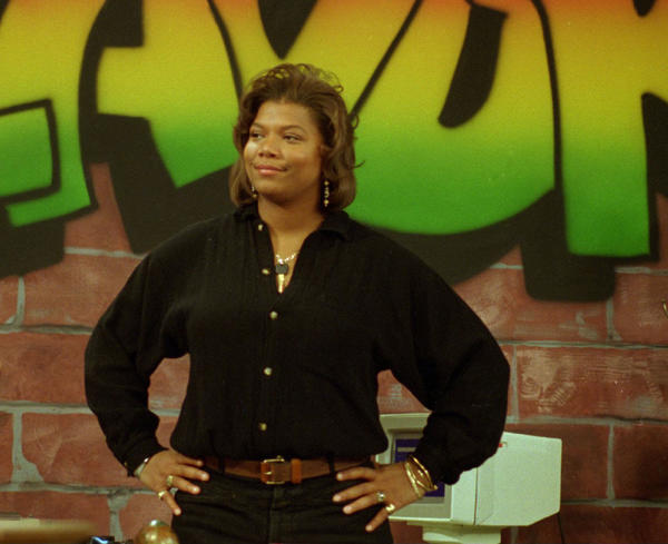 "Queen Latifah, rap artist and star of Fox's ""Living Single."""
