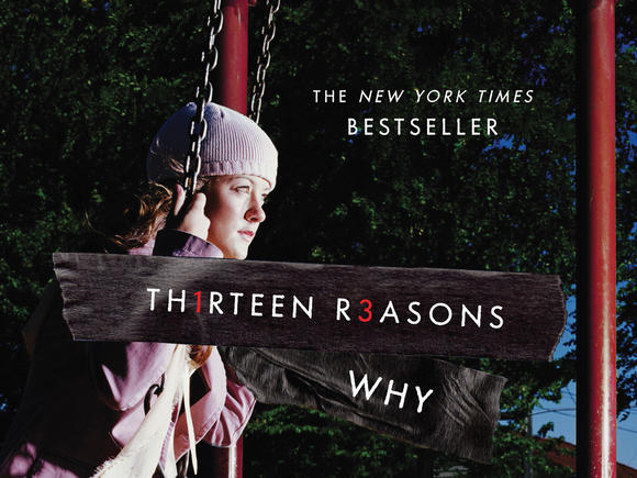 "The cover of Jay Asher's ""Thirteen Reasons Why,"" the selected book for the next HB Reads program."