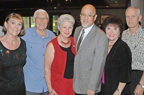 Committee members who made last weeks Kiwanis gala a success were, from left, Nancy Serpa, Wally Kendig, Hazel Schrefel, Phil Jue, Cynthia Faust and Gary Peterson.