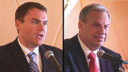SAN DIEGO - The two candidates running for mayor of San Diego came out swinging at a debate Tuesday in La Jolla.