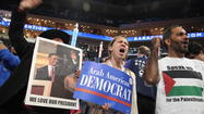 Opening night at the Democratic National Convention in Charlotte, North Carolina, revealed a strikingly diverse audience of delegates, activists and guests cheering even for the earliest speakers of the evening.