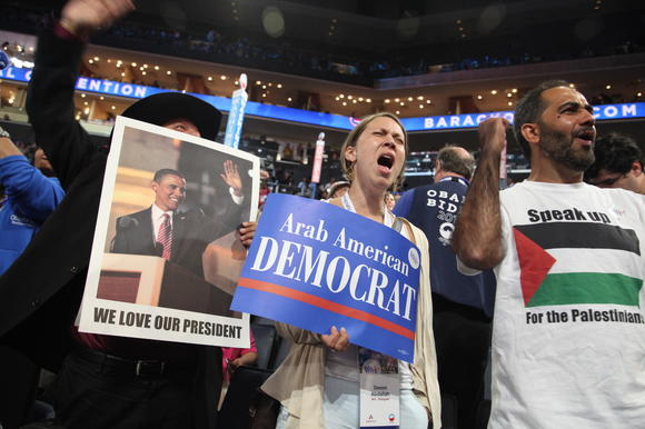 Opening night at the DNC in Charlotte, N.C.