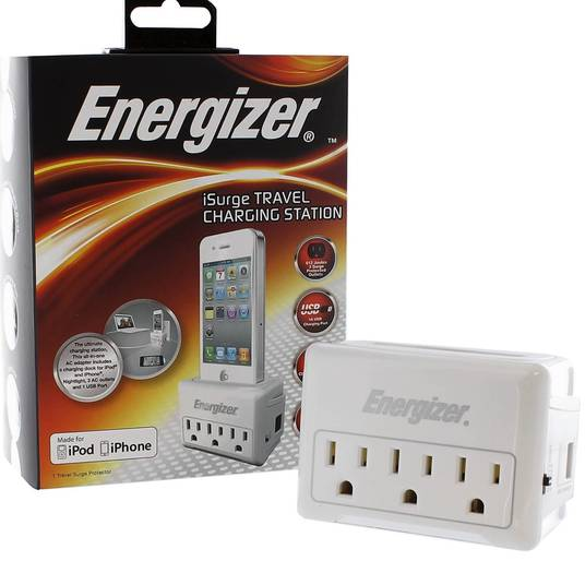 Energizer iSurge Travel Charging Station