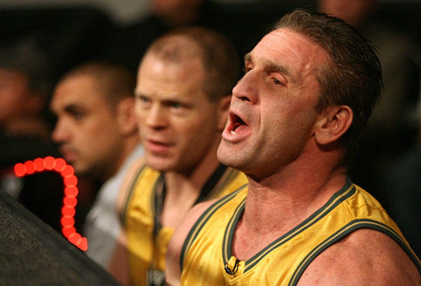 Being born Kenneth Kilpatrick apparently wasn?t Irish enough, so he changed his name to Ken Shamrock. The MMA fighter is 46 today. (Photo by Ross Dettman/Getty Images for IFL)