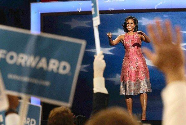 """I have seen first-hand that being president doesn't change who you are. No, it reveals who you are,"" First Lady Michelle Obama said on the opening night of the Democratic National Convention in Charlotte, N.C."