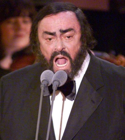 The great operatic tenor died of pancreatic cancer in 2007. He was 71.