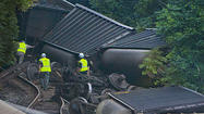 Derailment probe appears to focus on track condition