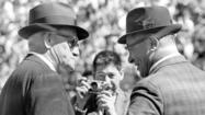 1964: George Halas and Vince Lombardi pregame