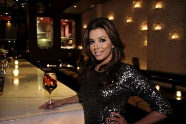 Actress Eva Longoria at the bar of her restaurant Beso in Hollywood in 2011. Longoria will help launch SHe, a steakhouse focused on women, in Las Vegas.