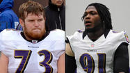 Ravens' Courtney Upshaw, Marshal Yanda say they're back, ready for Bengals game