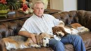 Orioles manager Buck Showalter and his basset hounds [Pictures]