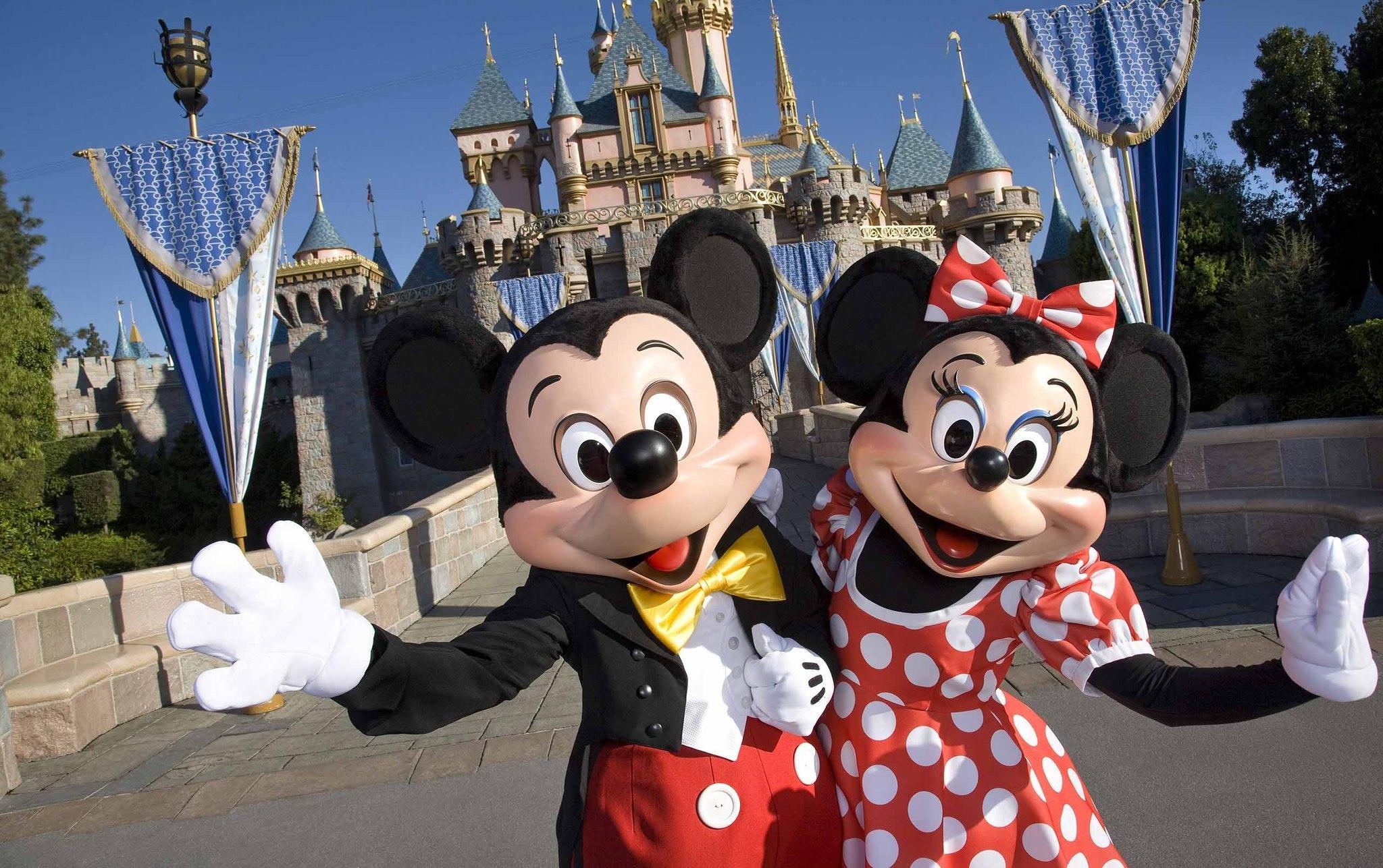 Disneyland -- Sleeping Beauty Castle