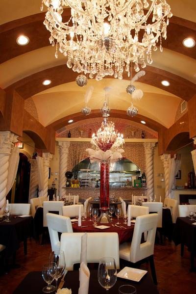 The dining room at Mario Ristorante Italiano and Wine Bar