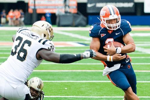 The status of Illinois quarterback Nathan Scheelhaase remains uncertain for Saturday's game.