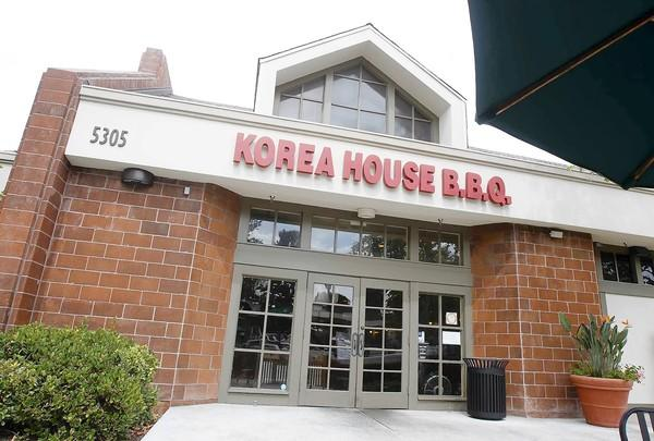 Korea House in Irvine.