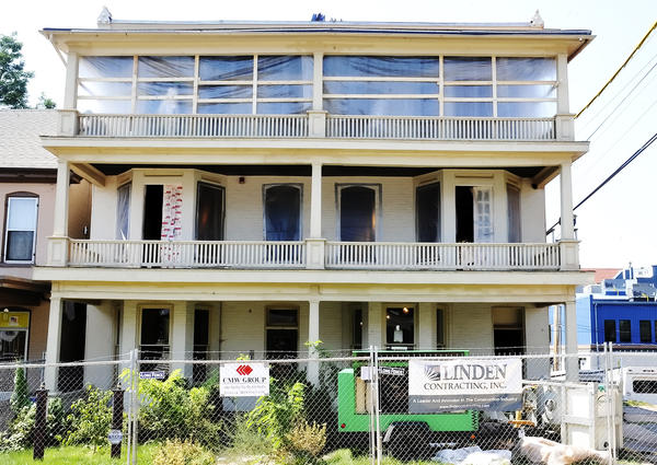 This three-story building at 25 E. North Ave. in Hagerstown is the future site for transitional housing for homeless veterans.