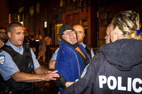 Police arrest the suspected gunman in the fatal shooting at a Parti Quebecois rally in Montreal. The party won provincial elections, and its leader will be Quebec's first female premier.