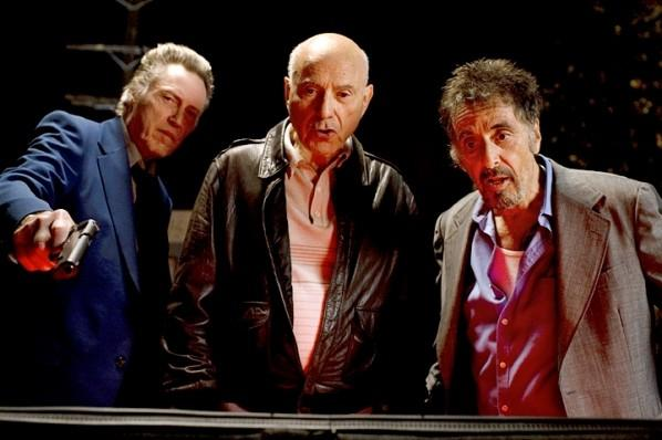 "(L to R) Christopher Walken, Alan Arkin and Al Pacino in ""Stand Up Guys."""