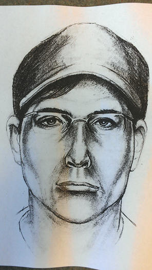 Composite drawing of suspect