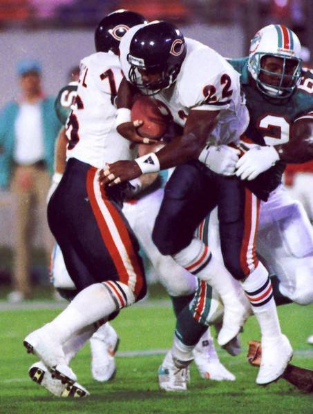 A postmortem investigation found that former NFL safety Dave Duerson (22) was suffering from advanced neurodegenerative disease at the time of his suicide at the age of 50 in February 2011.