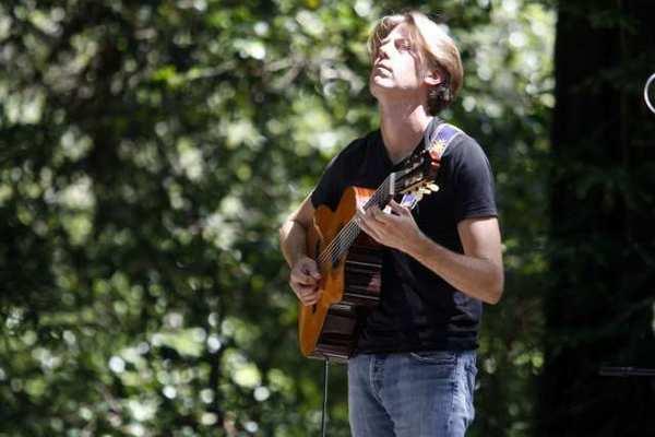 Incendio's Jim Stubblefield performs at Descanso Gardens in La Canada/