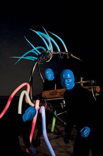 "The new show will feature ""biomorphic percussion creatures"" and other visual and auditory eccentricities."
