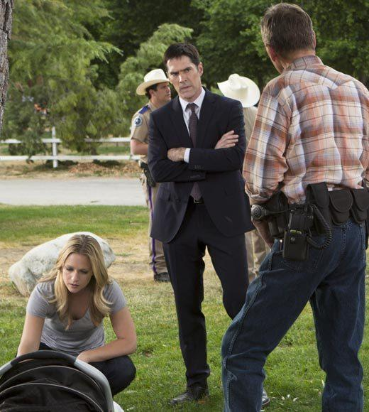 Fall TV 2012 Returning Shows: What to expect: Premieres: Wednesday, Sept. 26 at 9 p.m.   Expect to see: New blood. Prentiss is off to London to work for Interpol, so a new agent comes in to take her place. Alex Blake (played by Jeanne Tripplehorn) is an FBI lifer, a linguistics expert, and someone who has bad blood with Strauss. That, and her initial meeting with Morgan and Garcia, points to a rocky settling-in period for the new agent.   -- Sarah Jersild, Zap2it