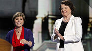 Barbara Boxer and Diane Feinstein
