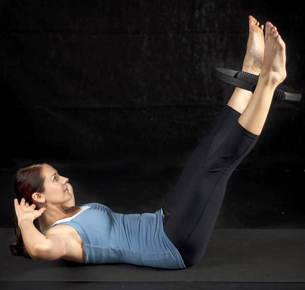 Pilates Ring: A Introductory Workout Using The Pilates
