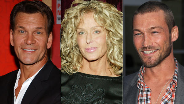 Patrick Swayze, Farrah Fawcett and more celebrities lost to cancer: Cancer has touched all of us in some way -- one in two men and one in three women in the U.S. are expected to be diagnosed with cancer in their lifetimes, and almost 8 million people worldwide die from cancer each year. Thats why stars are donating their time to raise money to fight the disease in the Stand Up To Cancer special.   Gwyneth Paltrow, Julia Roberts and Matt Damon are just some of the stars scheduled to appear. Coldplay, Taylor Swift, Alicia Keys and Tim McGraw are slated to perform.  Consider donating to the cause, and remember just some of the stars who weve lost to the scourge of cancer.