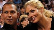 Alex Rodriguez and Torrie Wilson