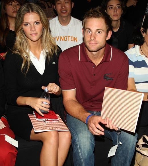 Tom Brady and Gisele and more athlete/entertainer love matches: The tennis great and the Sports Illustrated Swimsuit model married in 2009.