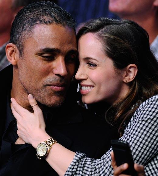 "He's now dating ""Dollhouse"" actress Eliza Dushku."