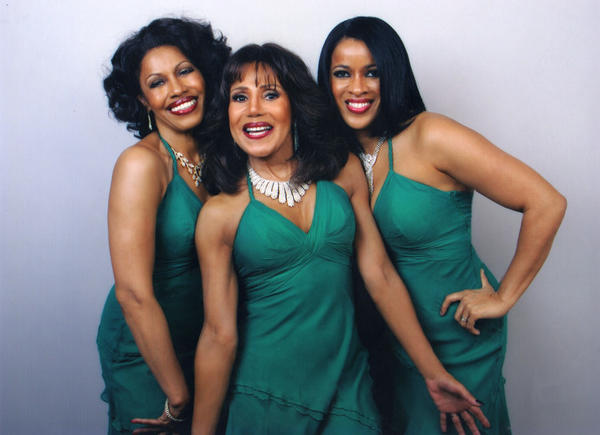 Dee Dee Kenniebrew, center, is the lone original member of the Crystals, who perform Saturday night at the Aberdeen Civic Arena.