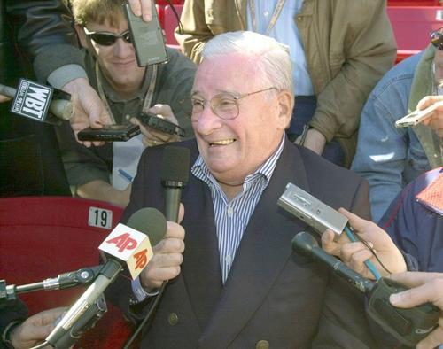 Team owner Art Modell at media day.