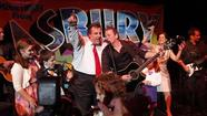 "<span style=""font-size: small;"">Political partisanship aside, New Jersey Governor Chris Christie is a devout Bruce Springsteen fan, tellingJimmy Fallon Tuesday night he just saw the Boss in concert for the 130th time. The Republican politician shares very little political common ground with his musical idol, but nevertheless, he shared his love of Springsteen's songs by duetting with Fallon on a taste of ""Thunder Road,"" Watch <a href=""http://popwatch.ew.com/2012/09/05/jimmy-fallon-chris-christie/"">here.</a></span>"