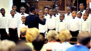 Haitian boys choir