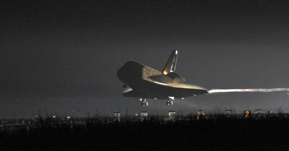 Space shuttle Endeavour's last mission