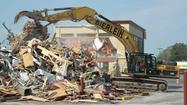 McDonald's demolished in preparation for rebuilding project