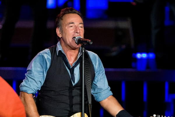 Bruce Springsteen and the E Street Band perform at Citizens Bank Park earlier this week in Philadelphia.