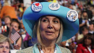 CHARLOTTE, N.C. -- With hundreds of delegates and alternates in attendance, the California delegation to the Democratic National Convention takes up a big piece of real estate inside Time Warner Cable Arena. Sitting enthusiastically among them Wednesday night was delegate Juliet Minassian of Glendale, attending her first political convention.